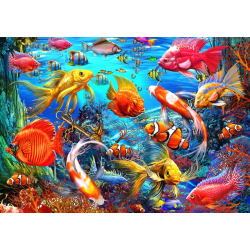 (1500 pièces) - Tropical Fish