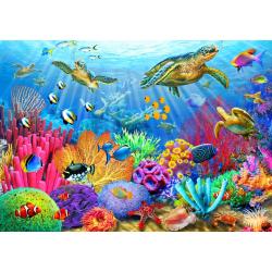 (1000 pièces) - Turtle Coral Reef