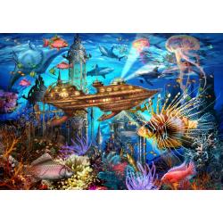 (1000 pièces) - Aqua City
