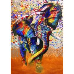 (1500 pièces) - African Colours