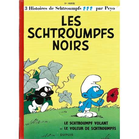 Schtroumpfs (Les) - Tome 1 - Les Schtroumpfs noirs