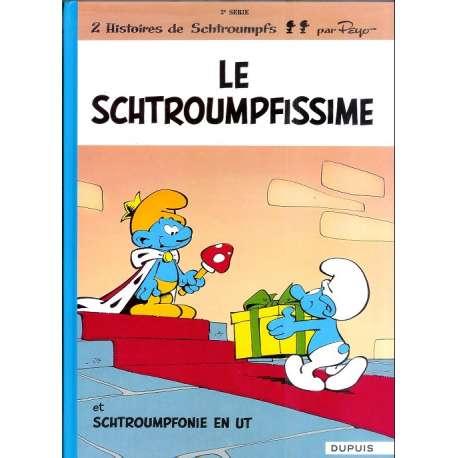 Schtroumpfs (Les) - Tome 2 - Le Schtroumpfissime (+ Schtroumpfonie en ut)