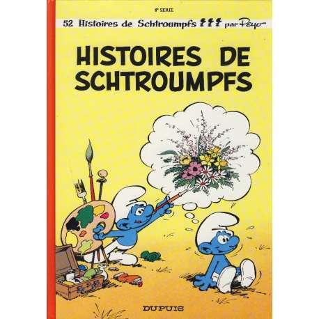 Schtroumpfs (Les) - Tome 8 - Histoires de Schtroumpfs