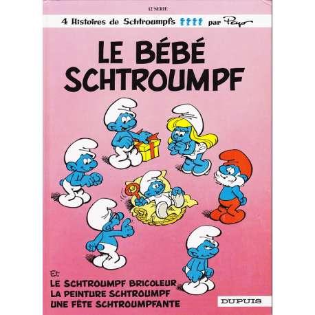 Schtroumpfs (Les) - Tome 12 - Le bébé schtroumpf