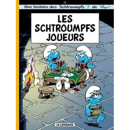 Schtroumpfs (Les) - Tome 23 - Les Schtroumpfs joueurs