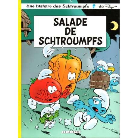 Schtroumpfs (Les) - Tome 24 - Salade de Schtroumpfs