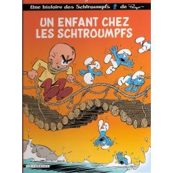 Schtroumpfs (Les) - Tome 25 - Un enfant chez les schtroumpfs