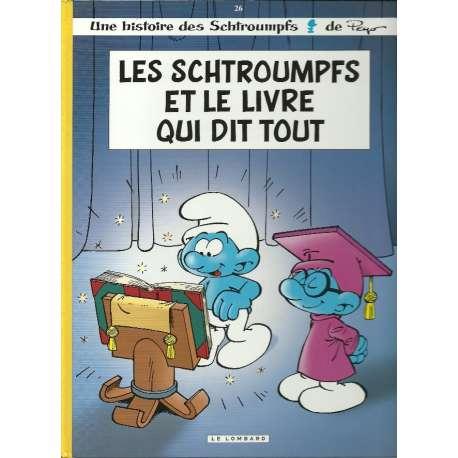 Schtroumpfs (Les) - Tome 26 - Les schtroumpfs et le livre qui dit tout