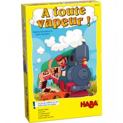 A toute vapeur ! – Un jeu de collecte sur les trains haut en couleur