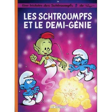 Schtroumpfs (Les) - Tome 34 - Les schtroumpfs et le demi-génie