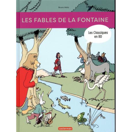 Fables de La Fontaine (Les) (Heitz) - Les fables de la fontaine - Les classique en BD