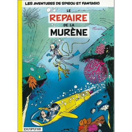 Spirou et Fantasio - Tome 9 - Le repaire de la murène