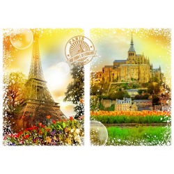 (2000 Pièces) - Travel around the World - France