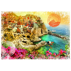 (2000 Pièces) - Travel around the World - Italie