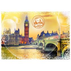 (2000 Pièces) - Travel around the World - Royaume Uni
