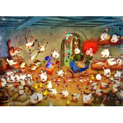(300 Pièces) - Crazy Chicken Coop