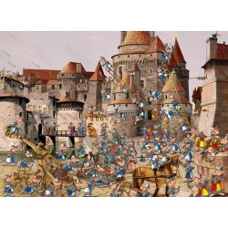 (300 Pièces) - François Ruyer - Attaque du Château