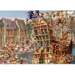 (24 Pièces magnétiques) - François Ruyer: Pirates