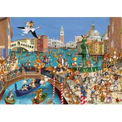 (24 Pièces magnétiques) - François Ruyer : Les Lapins à Venise