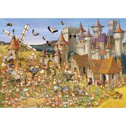 (24 Pièces magnétiques) - François Ruyer: Le Château des Lapins