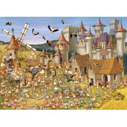 (300 Pièces) - François Ruyer: Le Château des Lapins