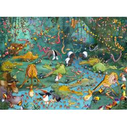 (300 Pièces) - François Ruyer : La Jungle