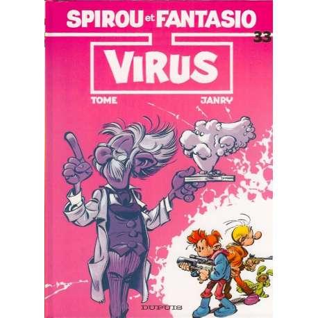 Spirou et Fantasio - Tome 33 - Virus