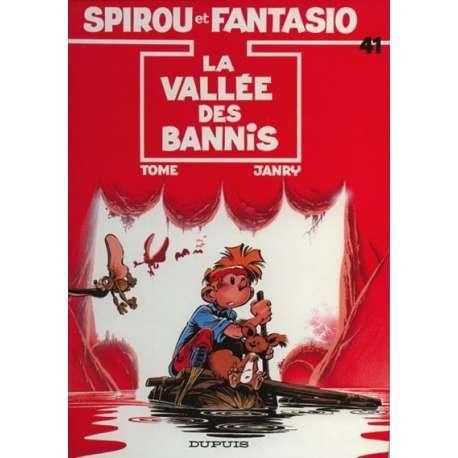 Spirou et Fantasio - Tome 41 - La vallée des bannis