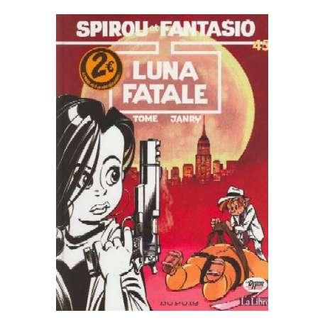 Spirou et Fantasio - Tome 45 - Luna fatale