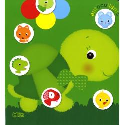 Autocollants couleurs tortue - Album