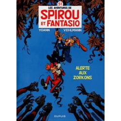 Spirou et Fantasio - Tome 51 - Alerte aux Zorkons