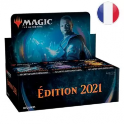 MTG Edition de Base 2021 : Boîte de 36 Boosters FR