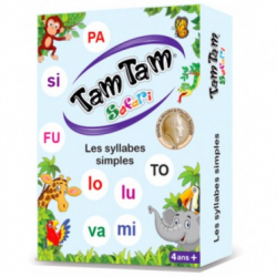 Tam Tam Safari Les Syllabes