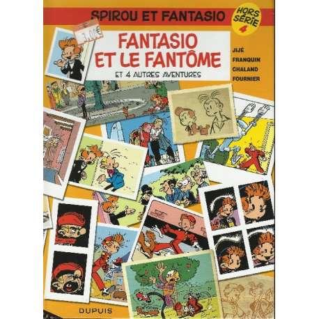 Spirou et Fantasio - Fantasio et le fantôme (et 4 autres aventures)