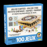 Coffret 100 jeux en bois