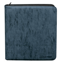 Cahier 480 Cartes Up Pro Binder Suède Sapphire Zipper