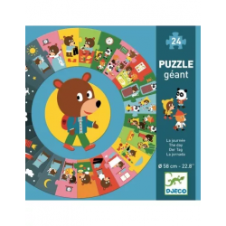 Puzzle géants - (24 pièces) Géant La journée