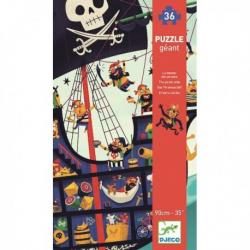Puzzle géants - (36 pièces) Le Bateau de pirate