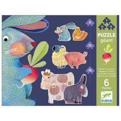 Puzzles évolutifs - (9, 12, 15 pièces) Pissenlit & ses amis