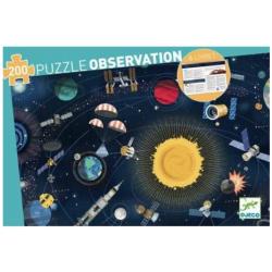 Puzzles observation - (200 pièces) L'Espace