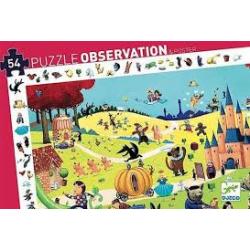 Puzzles observation - (54 pièces) Les contes