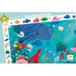 Puzzles observation - (54 pièces) Aquatique
