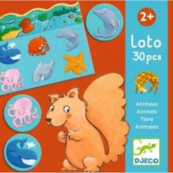 Jeux éducatifs - Loto des animaux