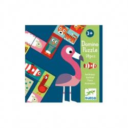 Jeux éducatifs - Domino Animo-puzzle