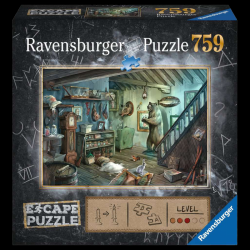 Escape Puzzles - (759 Pièces) La cave de la terreur