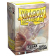 100x Dragon Shield MATTE - MTG 63.5x88 CLEAR - Anti-reflets