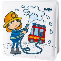 Livre de bain magique - Au feu les pompiers