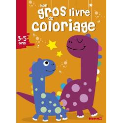 Mon gros livre de coloriage - Dinosaures - Album
