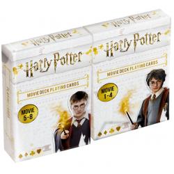 Lot de 2 Jeux de 54 cartes Harry Potter