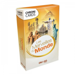 "Chronicards ""Merveilles du monde"""